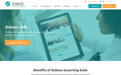 Learning Management System - LMS - Dokeos Manager