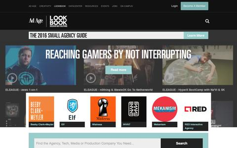 LookBook: The Marketing Solutions Directory - AdAge