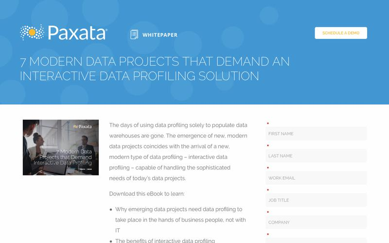 7 Modern Data Projects That Demand An Interactive Data Profiling Solution