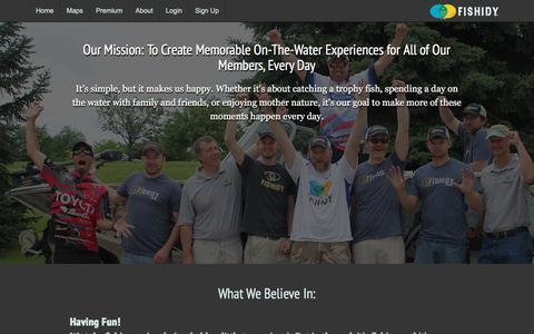 Screenshot of About Page fishidy.com - Background, Benefits & Behind the Scenes | About Fishidy - captured June 6, 2017