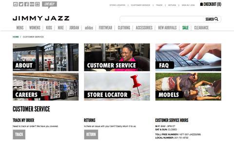 Customer Service | Jimmy Jazz