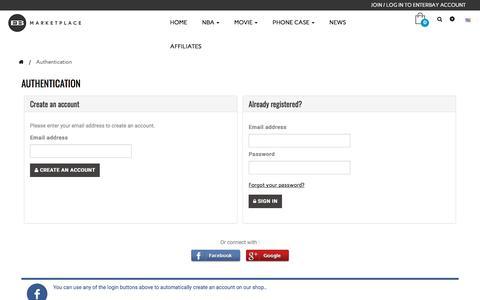 Screenshot of Signup Page enterbay.com - Login - ENTERBAY - captured Sept. 26, 2018