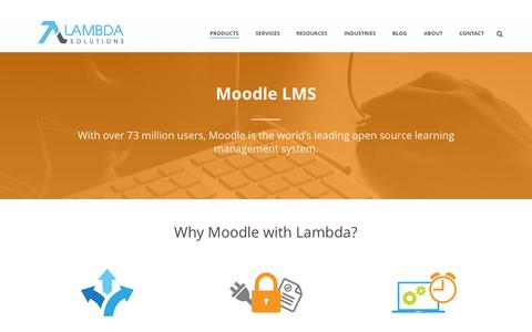 Screenshot of Blog lambdasolutions.net - The Lambda Solutions eLearning Blog - captured June 17, 2015