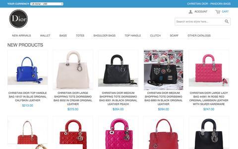 Screenshot of Login Page nexusanalytix.com - Christian Dior - Pandora Bags, The NO1 Seller Online Outlet of Christian Dior. - captured Dec. 15, 2016