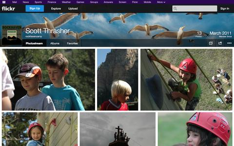 Screenshot of Flickr Page flickr.com - Flickr: rockhavencamp's Photostream - captured Oct. 26, 2014