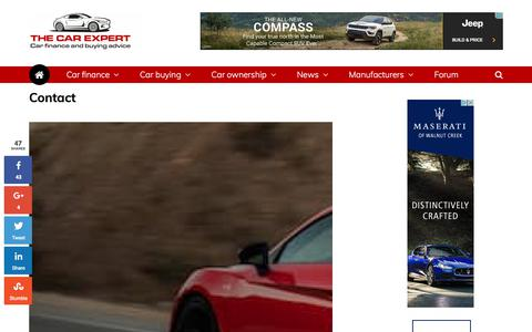 Contact The Car Expert   Blogging about cars and car buying