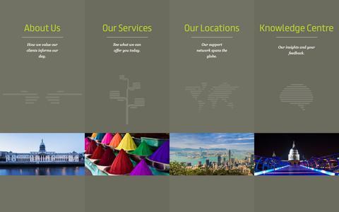 Screenshot of Menu Page customhousegroup.com - Menu - Custom House Group - captured Sept. 29, 2018
