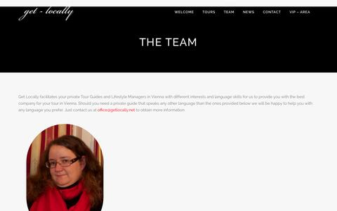 Screenshot of Team Page getlocally.net - Private Tour Guides in Vienna | Get Locally - captured Sept. 29, 2014