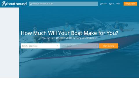 How Much Will Your Boat Make for You?