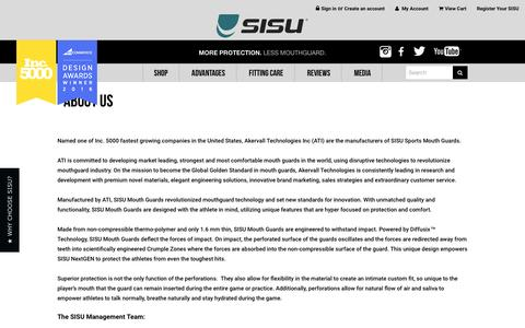 Screenshot of About Page sisuguard.com - About Us - captured Nov. 20, 2016