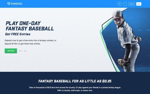 Fantasy Baseball  | FanDuel