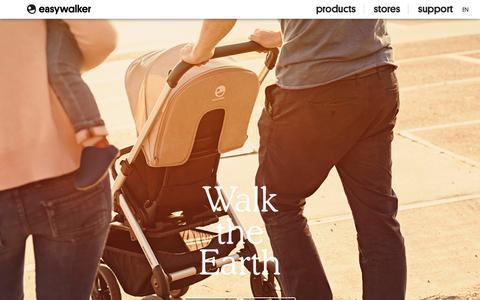 Screenshot of About Page easywalker.nl - About | EasyWalker - captured Sept. 27, 2015