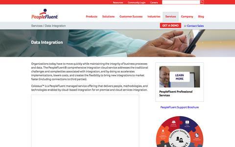 HR Data Integration | PeopleFluent