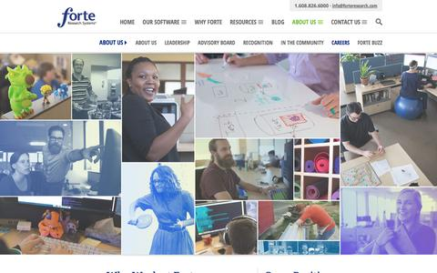 Careers | Forte Research Systems
