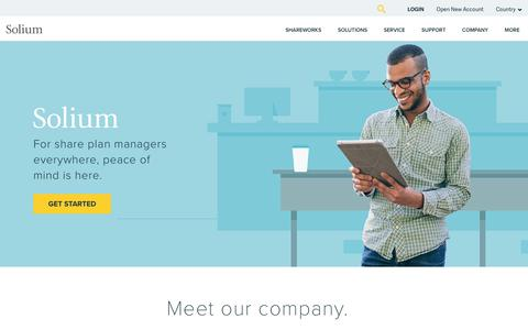 Solium | Share Plan Management Software