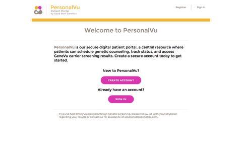 PersonalVu Portal
