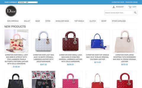 Screenshot of Login Page omnextax.com - Christian Dior - Pandora Bags, The NO1 Seller Online Outlet of Christian Dior. - captured Jan. 24, 2016