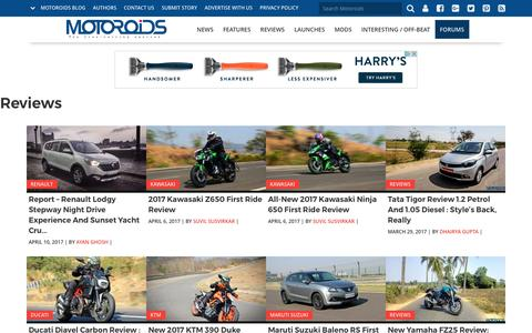 Car and Bike Reviews in India - Motoroids