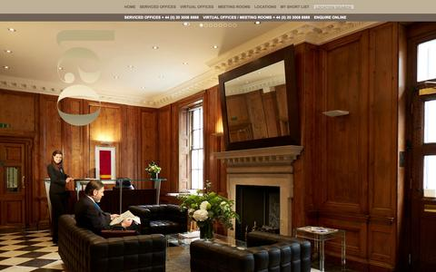 Screenshot of Home Page executiveoffices.co.uk - Serviced Offices, Virtual Offices and Meeting Rooms London | London Executive Offices - captured Oct. 3, 2014