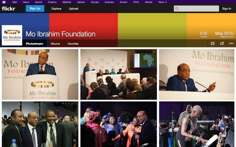 Screenshot of Flickr Page flickr.com - Flickr: Mo Ibrahim Foundation's Photostream - captured Oct. 26, 2014