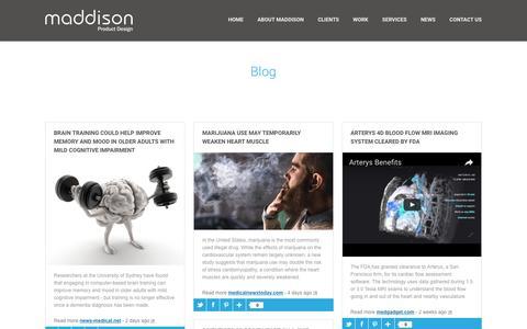 Screenshot of Blog maddison.co.uk - Blog   Maddison - captured Nov. 18, 2016