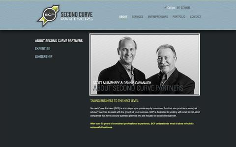 Screenshot of About Page secondcurvepartners.com - Second Curve Partners |   About Second Curve Partners - captured Oct. 27, 2014