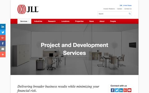 Commercial property development and project management | JLL