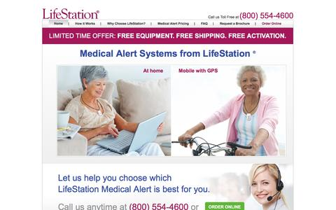 Medical Alert System & Medical Alarms | LifeStation