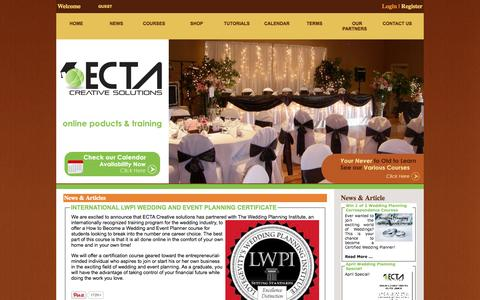 Screenshot of Press Page ectaint.com - News | ECTAINT TRAINING - captured Oct. 2, 2014