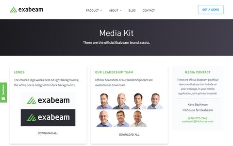 Media Kit - Exabeam