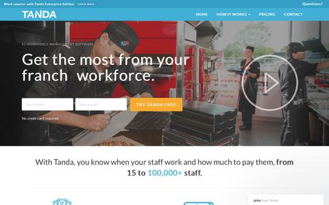 Time & Attendance Software | Workforce Management | Tanda