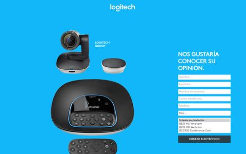 Screenshot of Landing Page logitech.com - Logitech | Contact Us - captured May 24, 2017