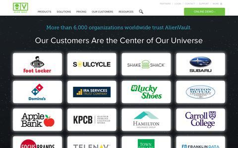 AlienVault Customers