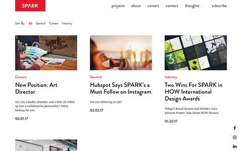 SPARK:: Read About Our Agency Updates & Happenings