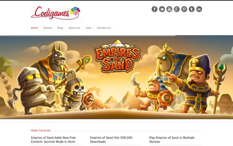 Low traffic Digital Games pages on WordPress | Website Inspiration