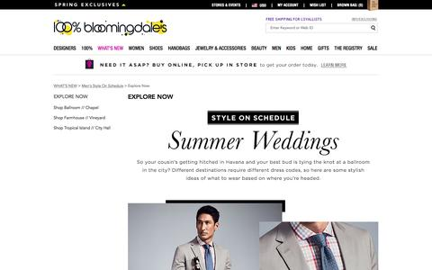 Explore Now - WHAT'S NEW | Bloomingdale's