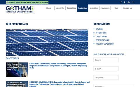 Screenshot of Case Studies Page gotham360.com - Customer Case Studies: Gotham 360 - captured Sept. 29, 2018