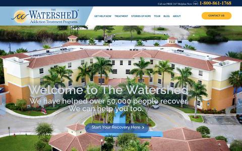 Best Alcohol and Drug Rehab | The Watershed Addiction Treatment