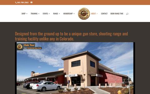 Screenshot of About Page centennialgunclub.com - About | Centennial Gun Club - captured May 15, 2017