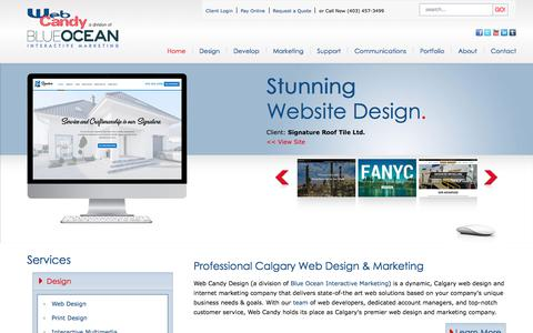 Screenshot of Home Page Terms Page webcandy.ca - Calgary Web Design, SEO, E-Commerce, Graphic Designers & More | Web Candy - Calgary Web Design and Web Development - Web Candy Design - captured Oct. 26, 2017