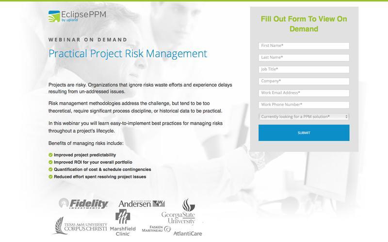 Eclipse Webinar: Practical Project Risk Management