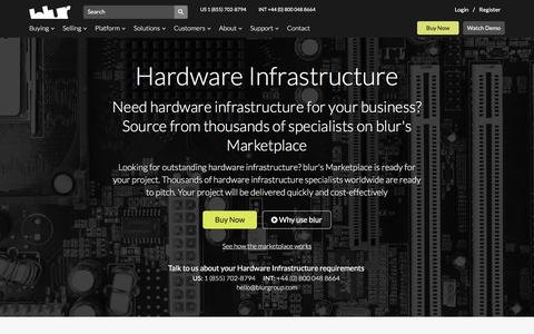 Infrastructure Services | blur Group