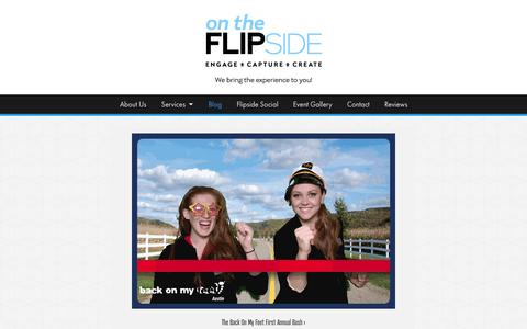 Screenshot of Blog flipsidexperience.com - On The Flipside Blog - Flipside Experience - captured Nov. 5, 2014