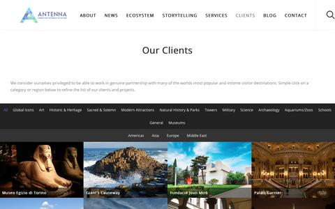 Clients - Antenna International