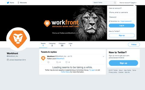 Tweets with replies by Workfront (@Workfront_Inc) | Twitter