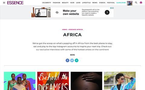 Africa | Essence.com