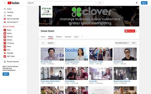 Clover Direct  - YouTube