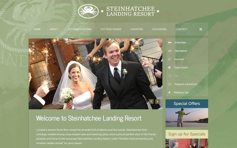 Screenshot of FAQ Page steinhatcheelanding.com - FAQ | Steinhatchee Landing Resort - captured March 11, 2016