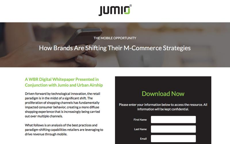 Whitepaper: The Mobile Opportunity for M-Commerce