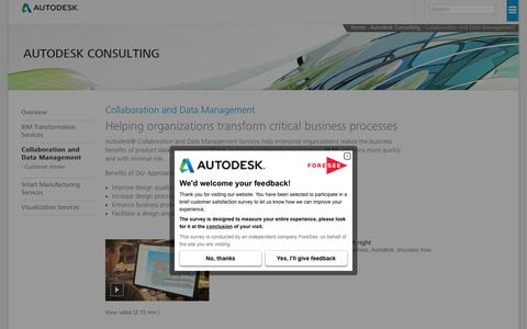 PLM Solutions | Collaboration and Data Management | Autodesk Consulting